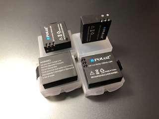 New PULUZ 3.8V 1050mAh Li-ion Battery for U6000