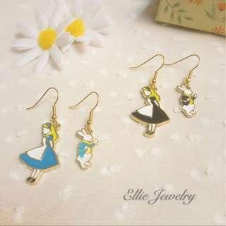 🧚🏻♀️愛麗絲耳環 🧚🏻♀️