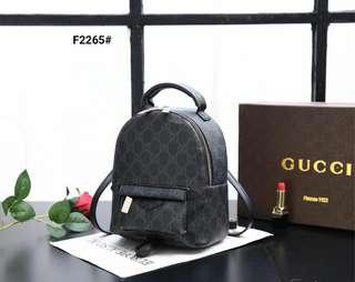 a854d9d36db104 Ransel Gucci GG Pvc Palm Springs Include Box Gucci F2265#21 Bahan Pvc  waterproof gucci