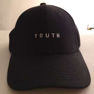 YOUTH Cap (Black)