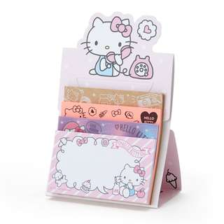 Japan Sanrio Hello Kitty 4 types of Sticky Notes