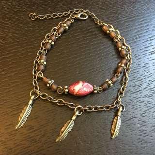 2 Strand Boho Chic Bracelet