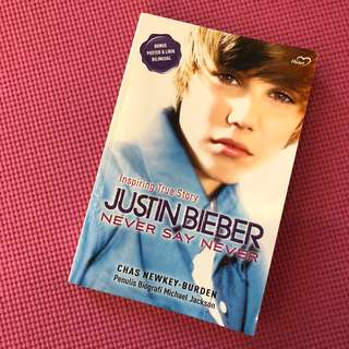 Justin Bieber Biography Book - Never Say Never