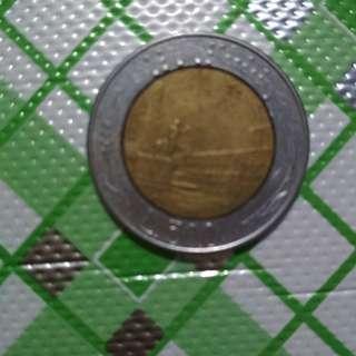 Koin Bimetal L500 Italiana