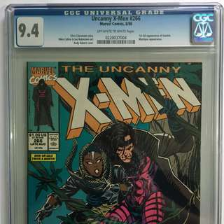 CGC Graded 9.4 Uncanny X-Men #266