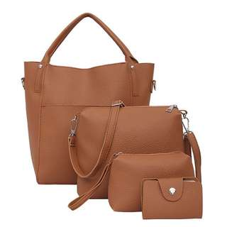 239-Four-In-One Set Handbag