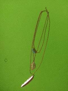 Boho layer necklace