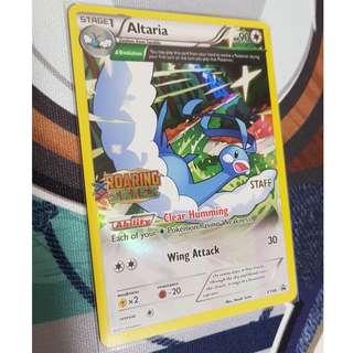 EX Prerelease STAFF Pokemon ALTARIA Card BLACK STAR PROMO Set XY46 Roaring Skies