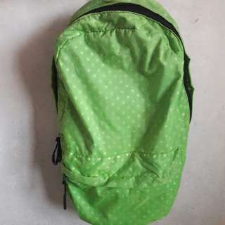 Authentic Primadonna Neon Green Backpack