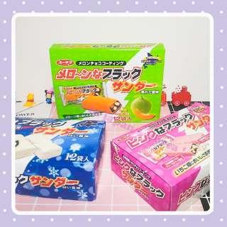 🚚 日本代購 北海道限定 草莓 哈密瓜 白雷神巧克力 12入