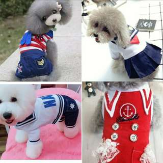 Clearance sale limited size pet apperal