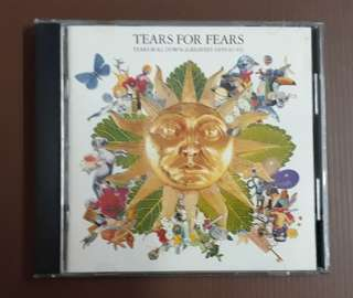CD Tears For Fears - Tears Roll Down ( Greatest Hits 82-92 ) France Press
