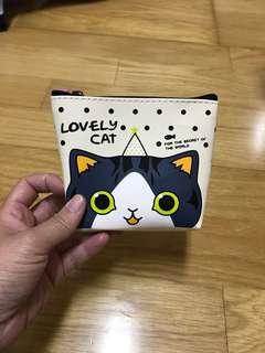 🚚 (全新)貓咪零錢包