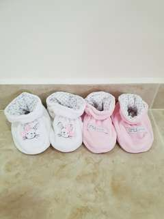 PL Mothercare Baby Booties 6-12mths