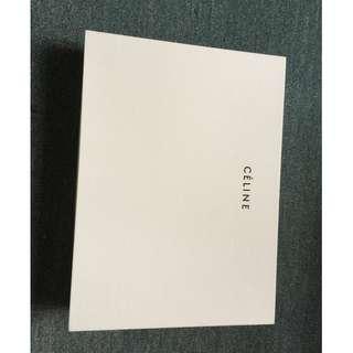 Celine 扁袋盒26X19X5