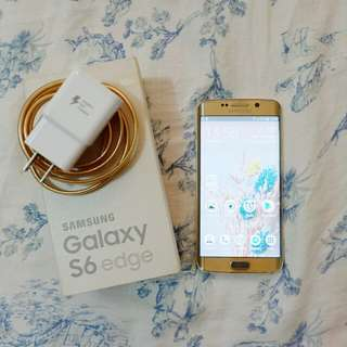 Samsung Edge S6 Edge Gold 32gb