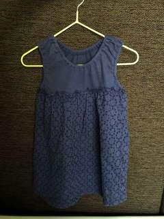 Dress Uniqlo 90cm 1-2y