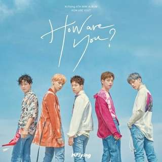 [PO] N FLYING 4TH MINI ALBUM - HOW ARE YOU