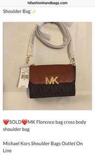 Authentic Brandnew Michael Kors sling bag