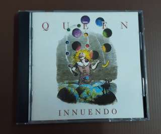 CD Queen - Innuendo ( EU Press )