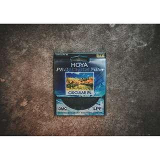 Hoya Pro1 Circular Polarizing Filter 77mm.