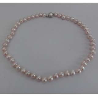 PRICE DROP! Pink Potato Pearl Choker Necklace - Almost New