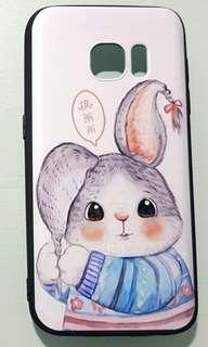 SamsungS7手機殼送保護貼 三星 phone case