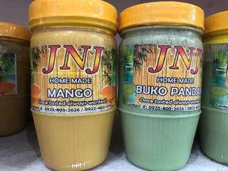Mango and Buko Pandan spread