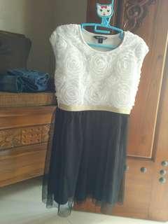 Dress anak merk george made in Vietnam ori uk 7-8 tahun
