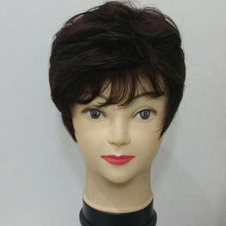 Dark Brown Short Wig