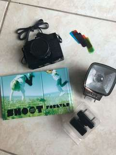 LOMO Mini Diana & Flash Package