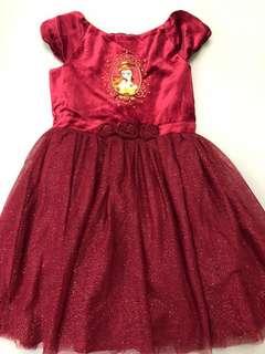 *包郵*140碼Disney store公主裙princess dress