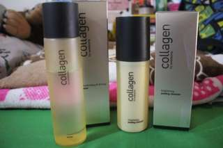 Collagen Toner and Cleanser