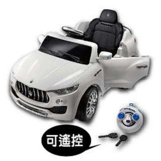 (超大只能宅配免運)Maserati電動車 瑪莎拉蒂 搖控電動車 (奶粉贈品)-免運送到家