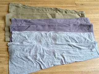 To bless free Scrap cotton cloth cut off from preloved leggings & pants craft crafting material