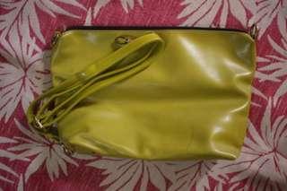 Sling Bag in Apple Green