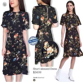 Hnm short sleeves dress Material polyester Original