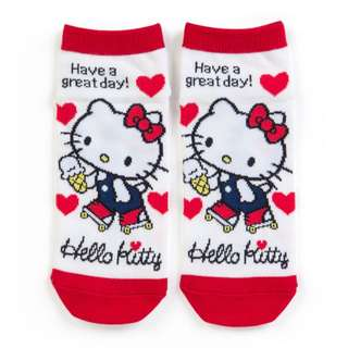 Japan Sanrio Hello Kitty Sneaker Socks (Roller Skating)
