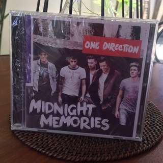 Brand New One Direction Midnight Memories Album