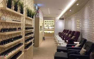 Gel Manicure + Classic / Gel Pedicure with Return Soak-Off for 1 Person (1 Session)