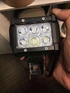 Fog Light trade with mini angle light