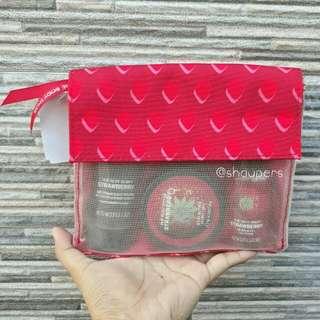 Strawberry Gift Set Bath The Body Shop