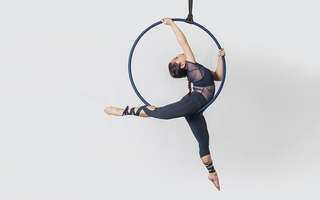 Four (4) 70-Min All-inclusive Aerial Hoop and Hammock Classes for 1 Person