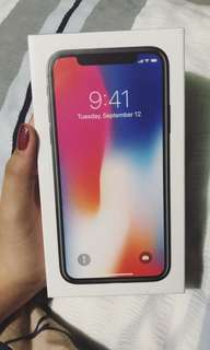 Iphone x brand new (sealed)