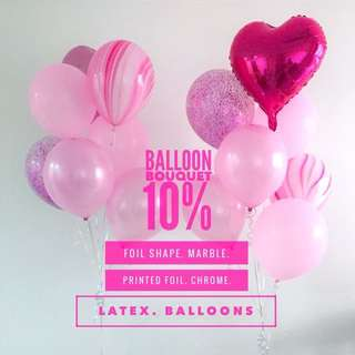 Balloon Bouquet 10%