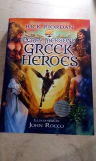 [Hard cover] Percy Jackson's Greek Heroes - Rick Riordan