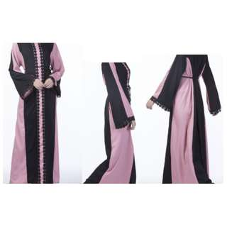[XPROJEK RAYA SALE] Fancyqube Muslim Women New Kaftan Abaya Jilbab Loose Maxi Dress