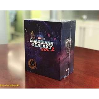 (全新) 強國獨家鐵 Guardians of the Galaxy Vol.2【銀河守護隊 2】獨家禮盒