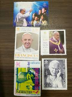 Pope stamp label chaser, this is for you! Fresh from pastaland! Hurry!