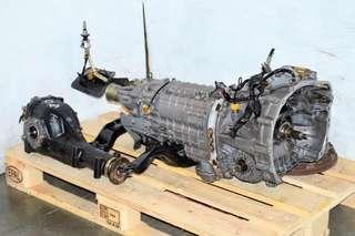 Subaru STI 6 Speed JDM DCCD Gearbox